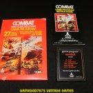 Combat - Atari 2600 - Complete CIB - 1978 Text Label Version