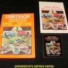 Street Racer - Atari 2600 - Complete CIB