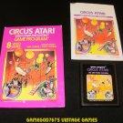 Circus Atari - Atari 2600 - Complete