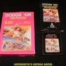 Dodge 'Em - Atari 2600 - Complete CIB