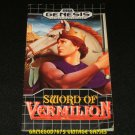 Sword of Vermilion - Sega Genesis - Manual Only