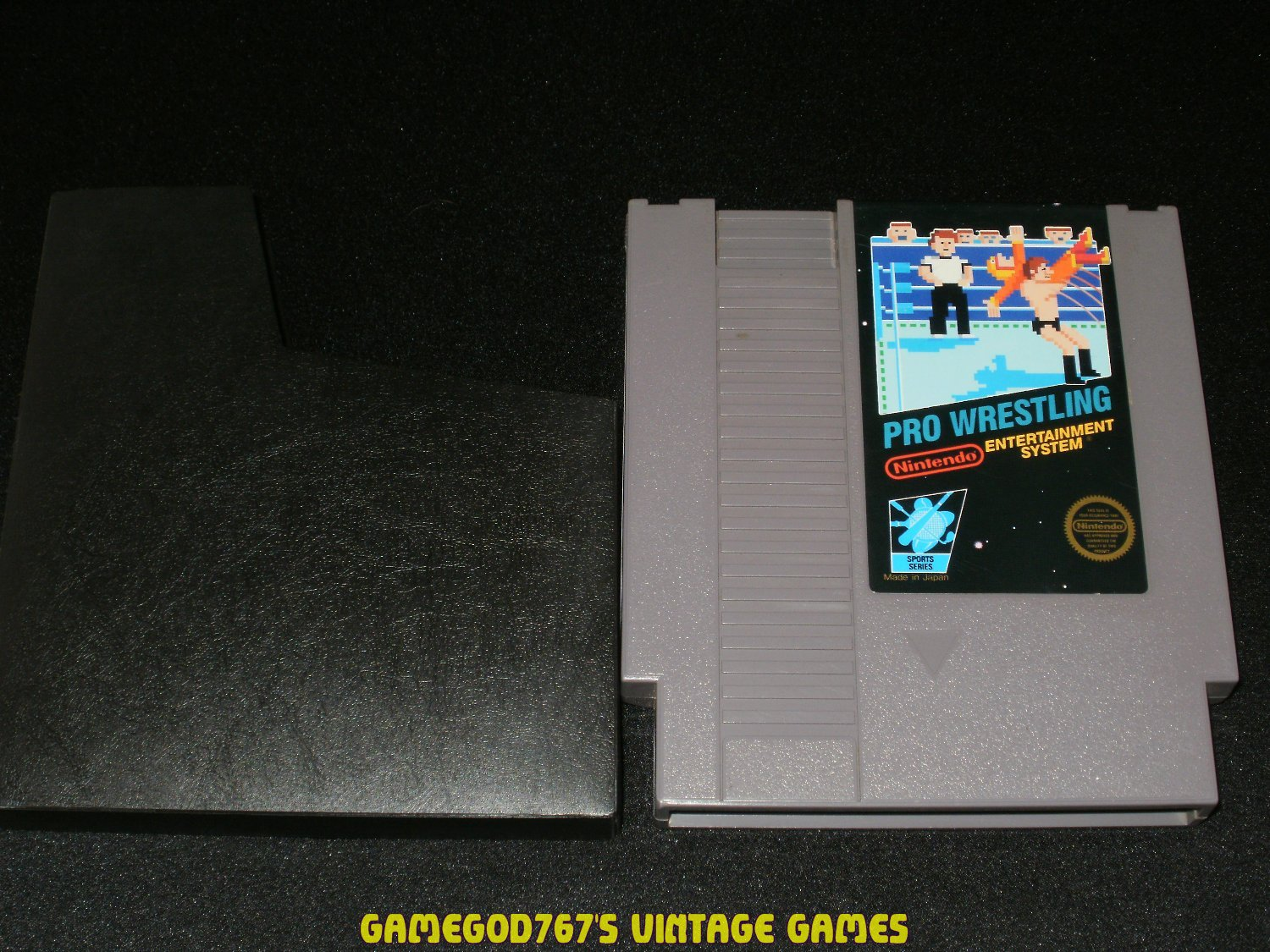 Pro Wrestling - Nintendo NES - With Cart Sleeve
