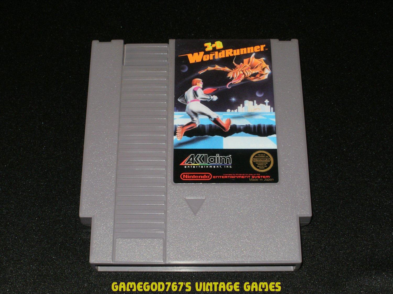 3-D WorldRunner - Nintendo NES