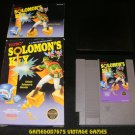 Solomon's Key - Nintendo NES - Complete CIB - 5 Screw 1987 Version