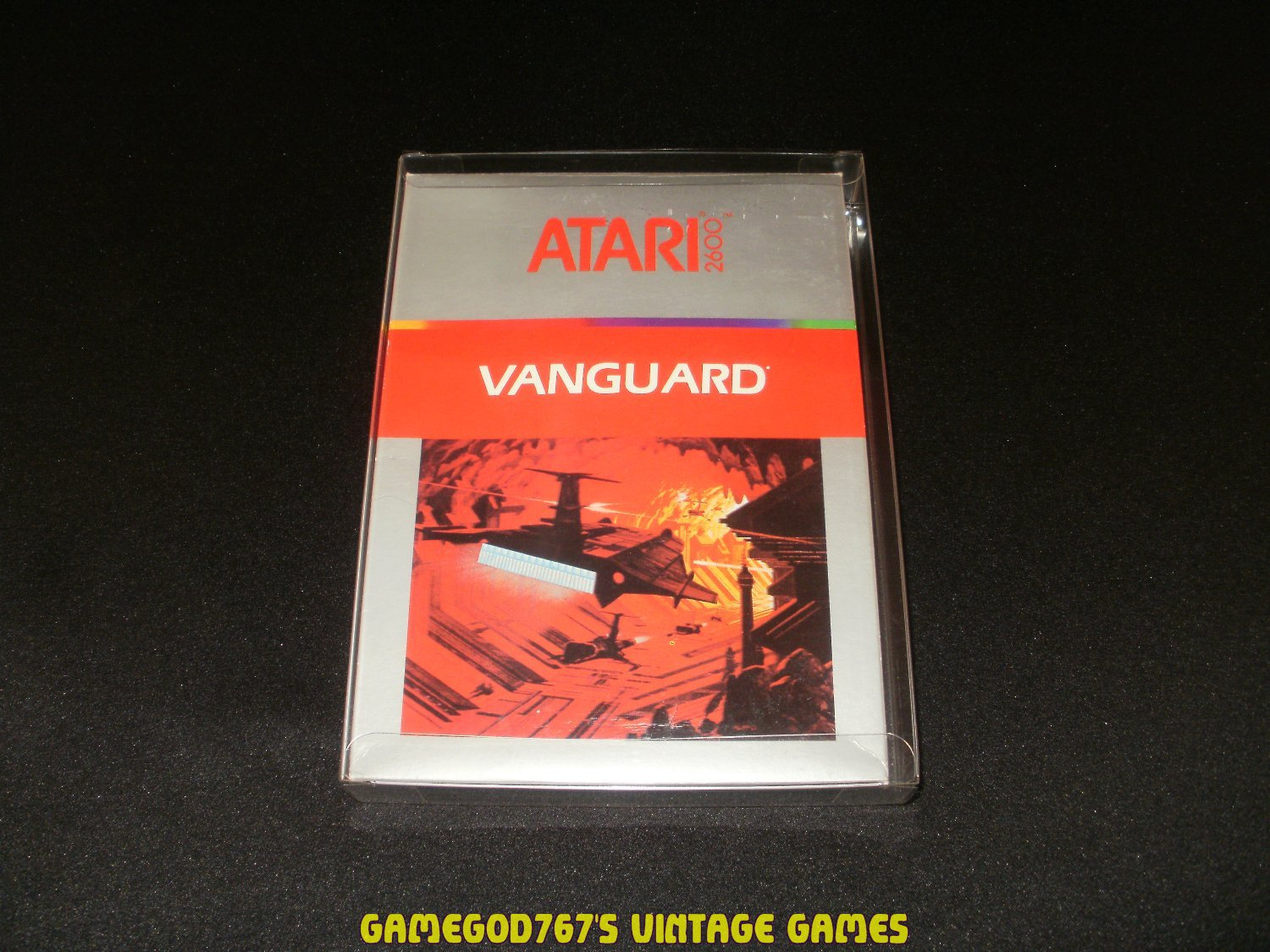 Vanguard - Atari 2600 - Complete CIB - With Box Protector