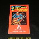 Superman - Atari 2600 - 1979 Manual Only