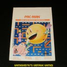 Pac-Man - Atari 2600 - 1982 Manual Only