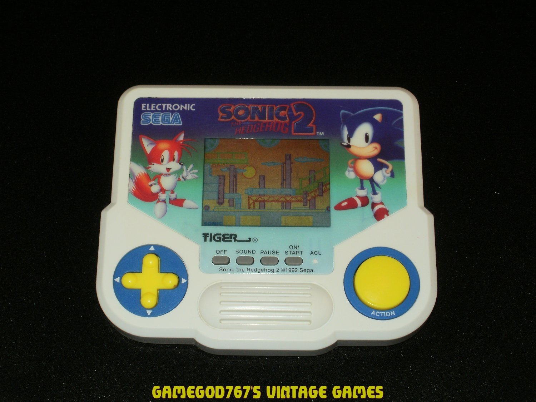 Sonic the Hedgehog 2 - Vintage Handheld - Tiger Electronics 1992 - Refurbished