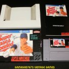 Super Bases Loaded - SNES Super Nintendo - Complete CIB