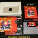 Wordtris - SNES Super Nintendo - Complete CIB