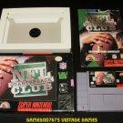 NFL Quarterback Club - SNES Super Nintendo - Complete CIB