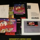 Taz-mania - SNES Super Nintendo - Complete CIB