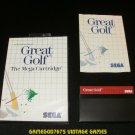 Great Golf - Sega Master System - Complete CIB