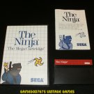 The Ninja - Sega Master System - Complete CIB