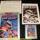 Choplifter - Atari 7800 - Complete CIB