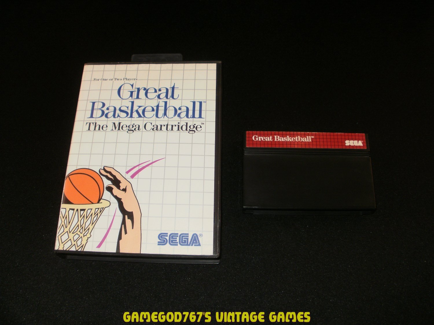 Great Basketball - Sega Master System - With Box