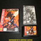 Red Zone - Sega Genesis - Complete CIB - Rare