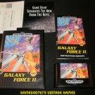 Galaxy Force II - Sega Genesis - Complete CIB