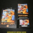Alien Storm - Sega Genesis - Complete CIB