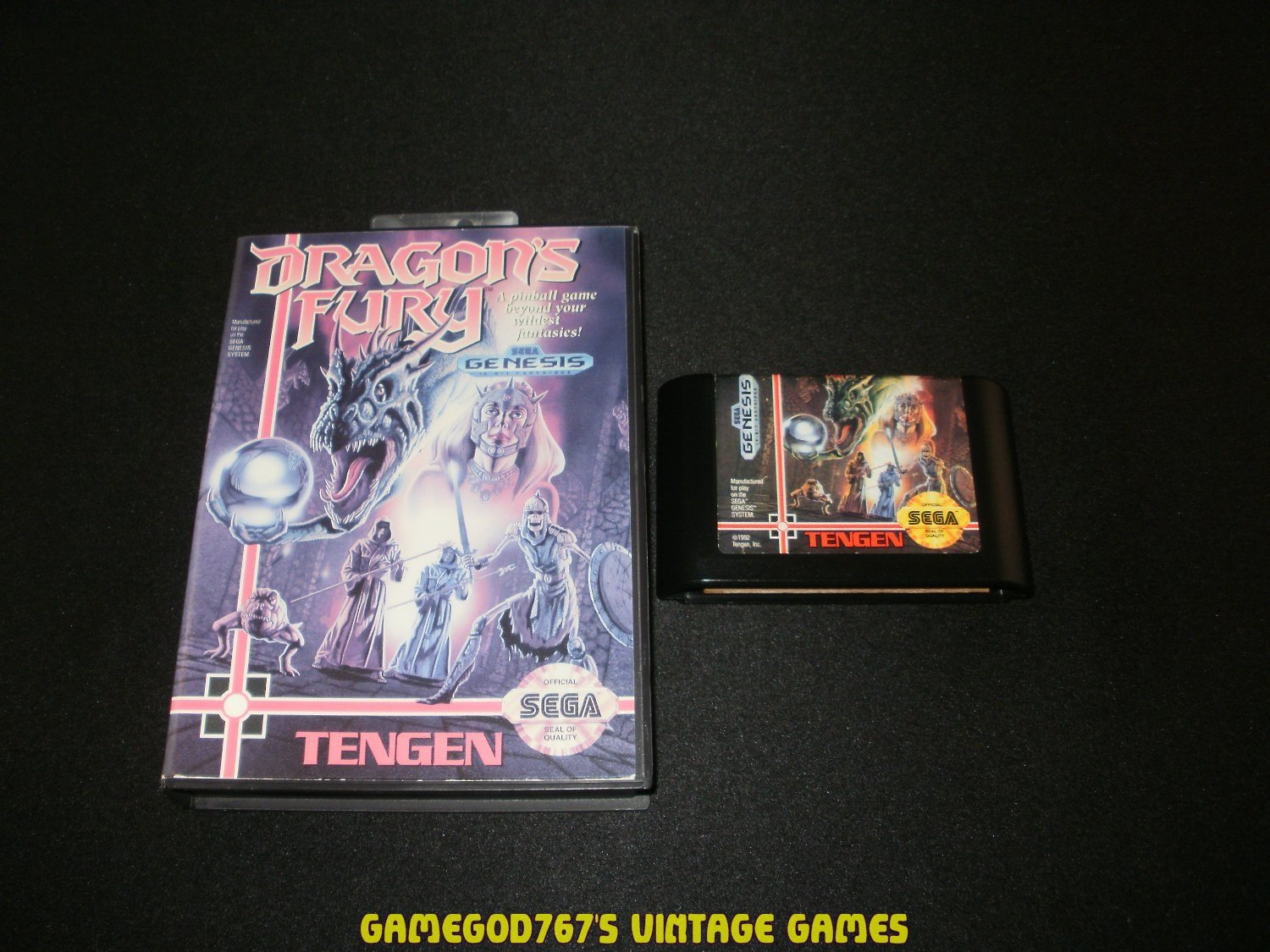 Dragon's Fury - Sega Genesis - With Box