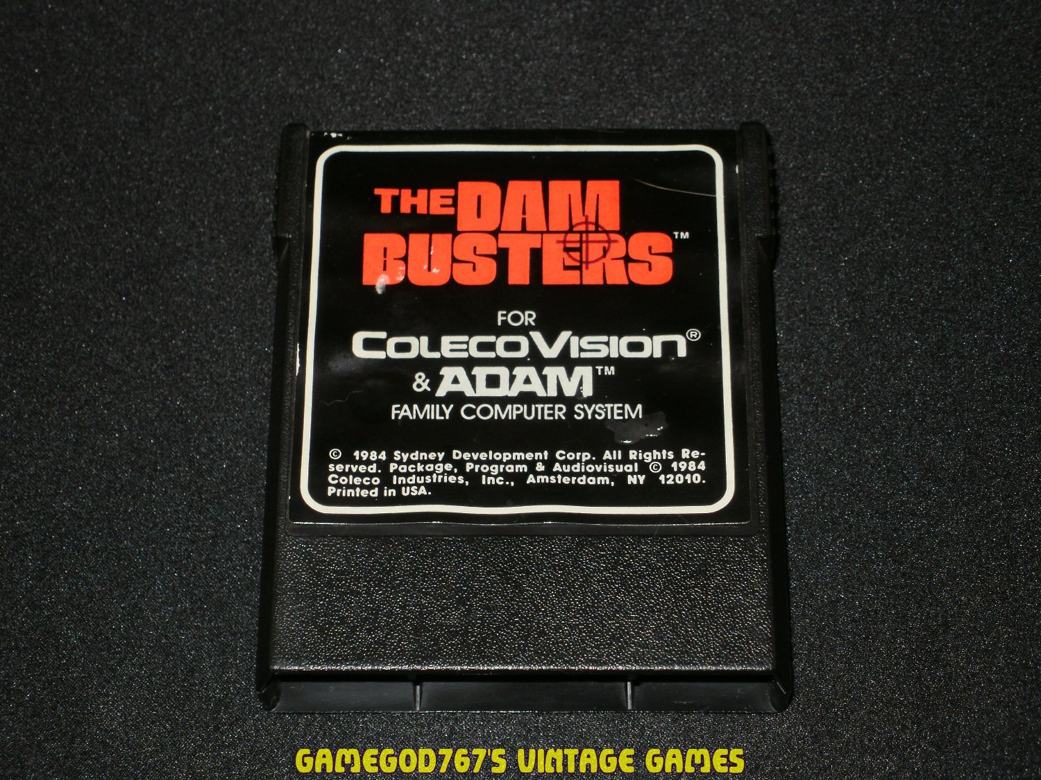 Dam Busters - Colecovision - Rare