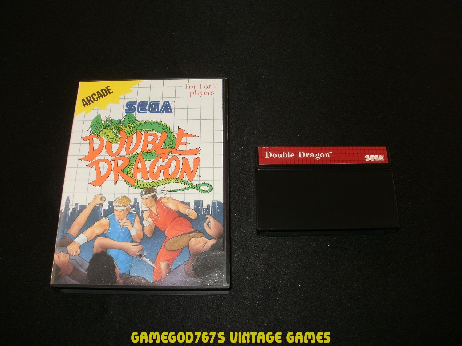 Double Dragon - Sega Master System - With Box