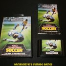 World Championship Soccer - Sega Genesis - Complete CIB