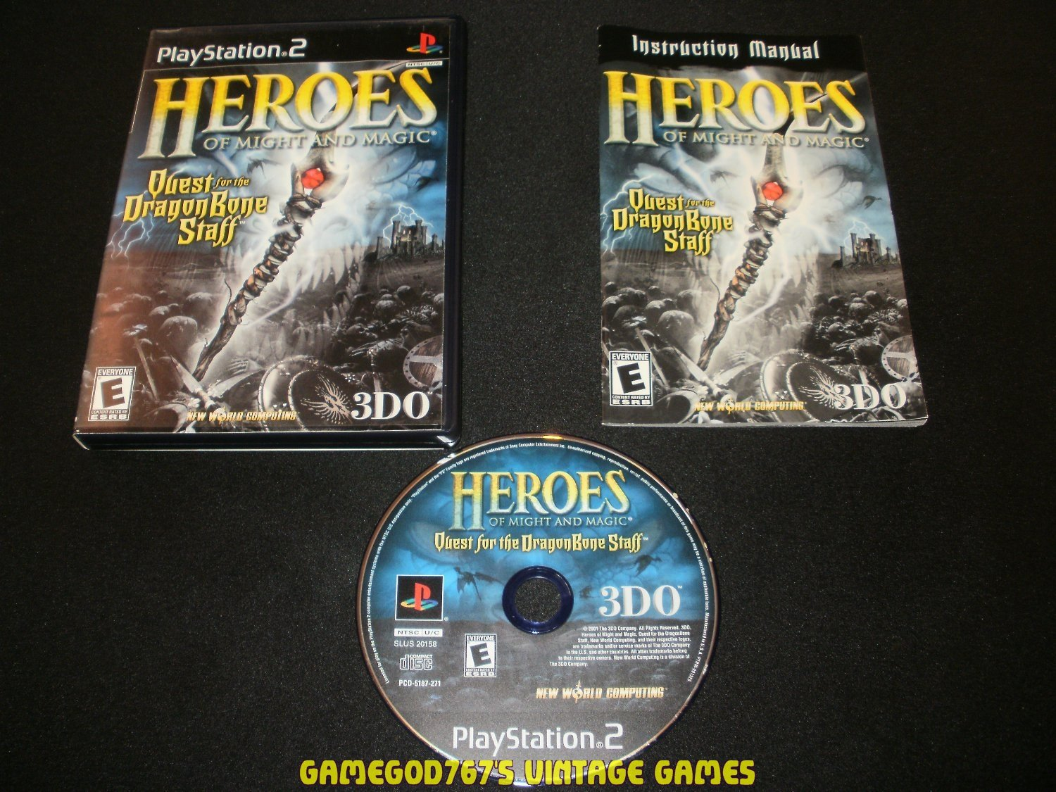 Heroes of Might and Magic - Sony PS2 - Complete CIB