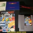 Pinbot - Nintendo NES - Complete CIB