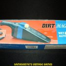 Dirt Magic Wet Dry Auto Vacuum with Light - New