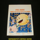 Pac-man - Atari 2600 - 1981 Manual Only