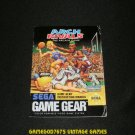 Arch Rivals - Sega Game Gear - 1992 Manual Only