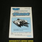 Turbo - ColecoVision - 1982 Manual Only - Canadian Version