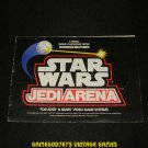Star Wars Jedi Arena - Atari 2600 - 1983 Manual Only