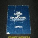 Starmaster - Atari 2600 - Manual Only - Blue Cover