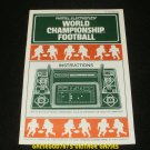 World Championship Football - Stand Alone Handheld - 1980 Manual Only