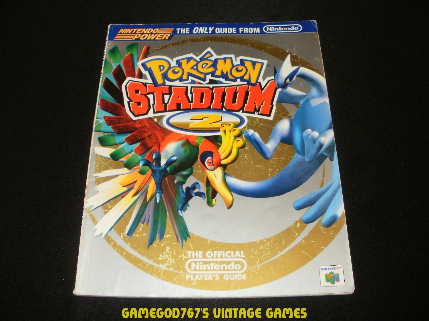 Pokemon Stadium 2 The Official Player's Guide - Nintendo Power (2001) - Paperback