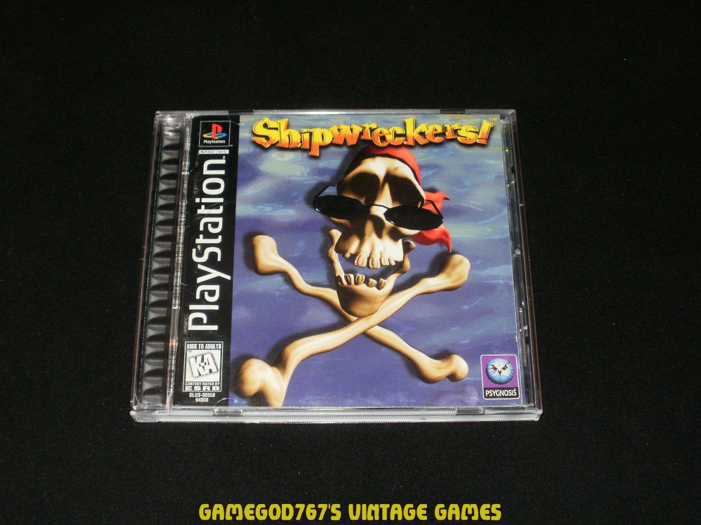 ShipWreckers - Sony PS1 - Complete CIB