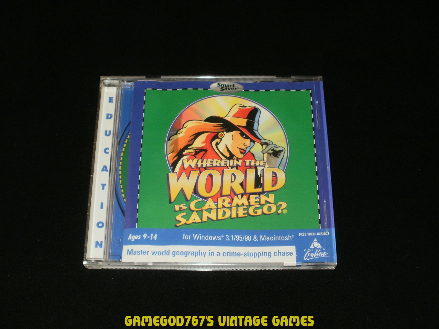 Where in the World is Carmen Sandiego - IBM PC - 2001 The Learning Company - Complete CIB