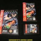 Batman Forever - Sega Genesis - Complete CIB