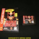 Judge Dredd - Sega Genesis - With Box