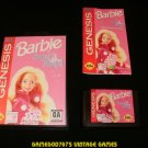 Barbie Super Model - Sega Genesis - Complete CIB