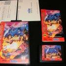 Aladdin - Sega Genesis - Complete CIB - 1993 Original Sega Version