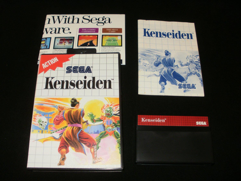 Kenseiden - Sega Master System - Complete CIB