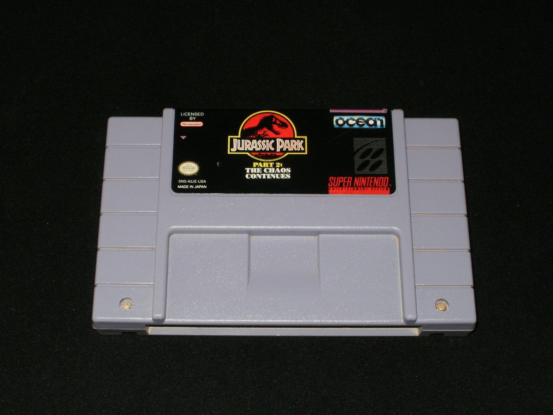 Jurassic Park Part 2 - SNES Super Nintendo