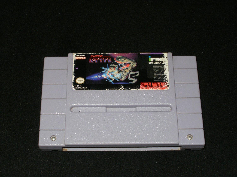 Super R-Type - SNES Super Nintendo