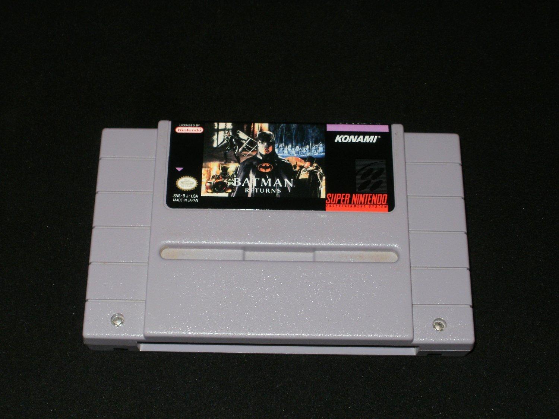 Batman Returns - SNES Super Nintendo