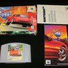 Cruis'n USA - N64 Nintendo - Complete CIB