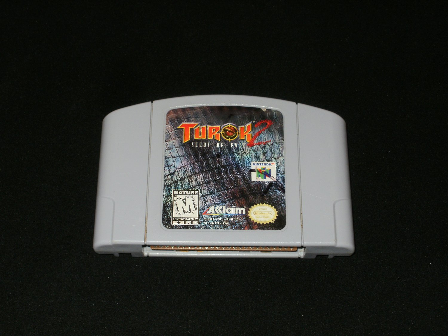 Turok 2 - N64 Nintendo - Gray Version