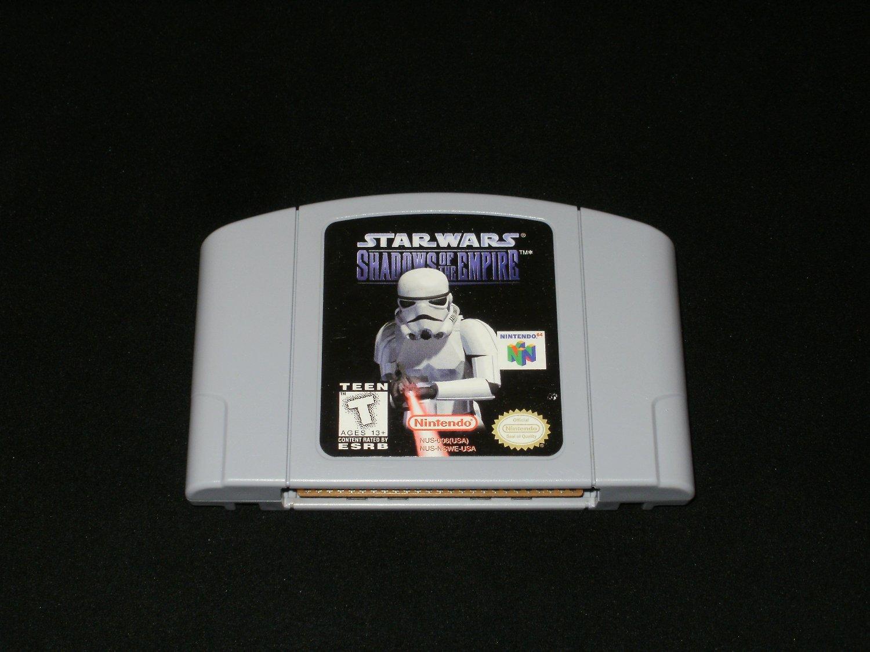 Star Wars Shadows of the Empire - N64 Nintendo